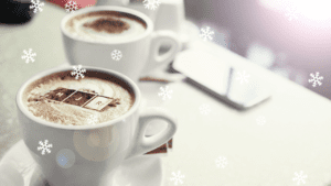 Mackenzie Jones Coffee Cups with Snowflake overlays - FMCG highlights 2019